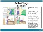 tell a story example
