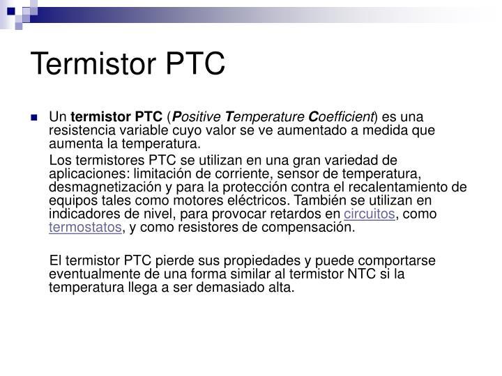 Termistor PTC