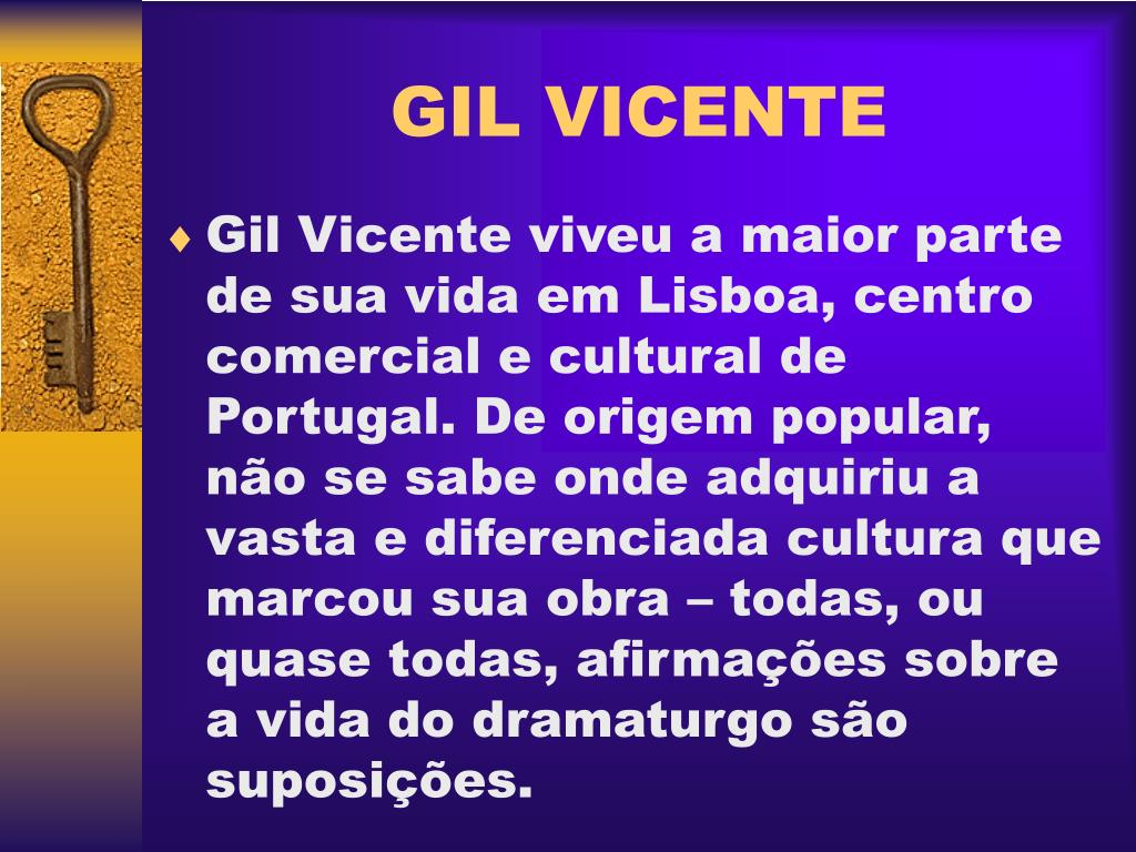 Ppt Gil Vicente Powerpoint Presentation Free Download Id 924415