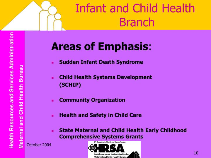 Infant and Child Health