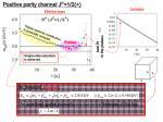 positive parity channel j p 1 2