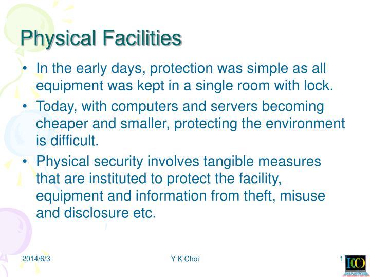 Physical Facilities