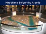 hiroshima before the atomic bomb