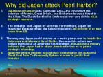 why did japan attack pearl harbor12