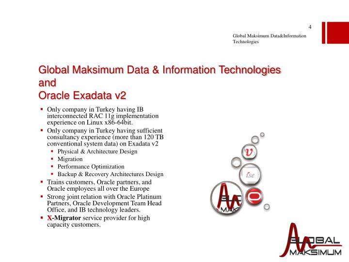 Global Maksimum Data&Information Technologies