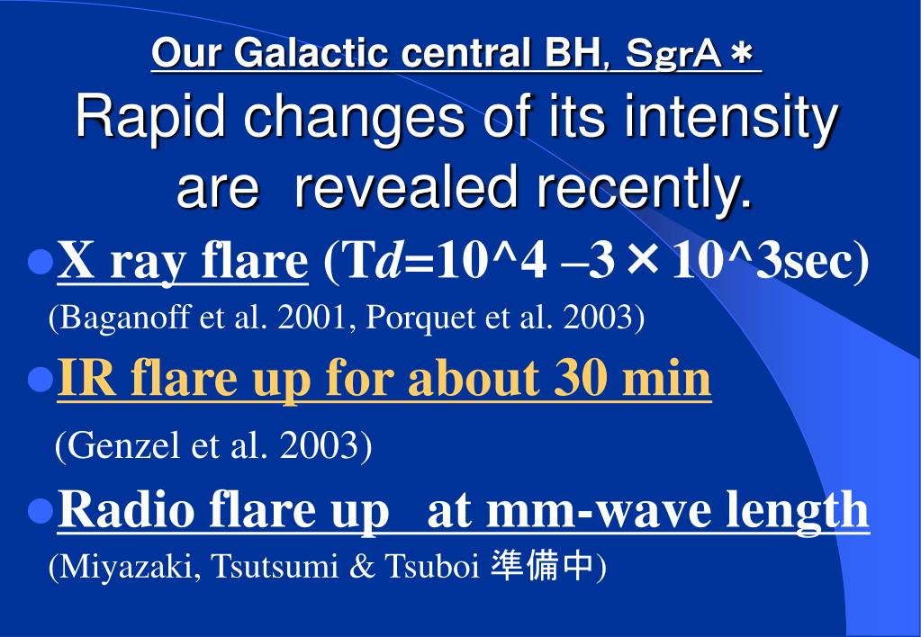 Our Galactic central BH