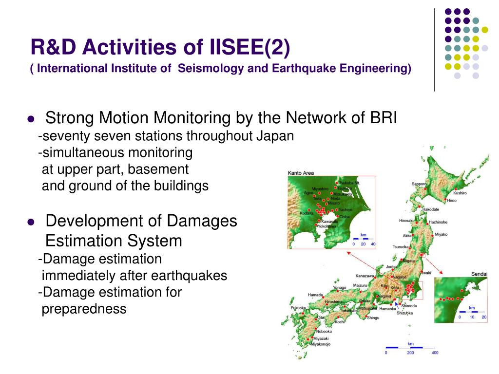 R&D Activities of IISEE(2)