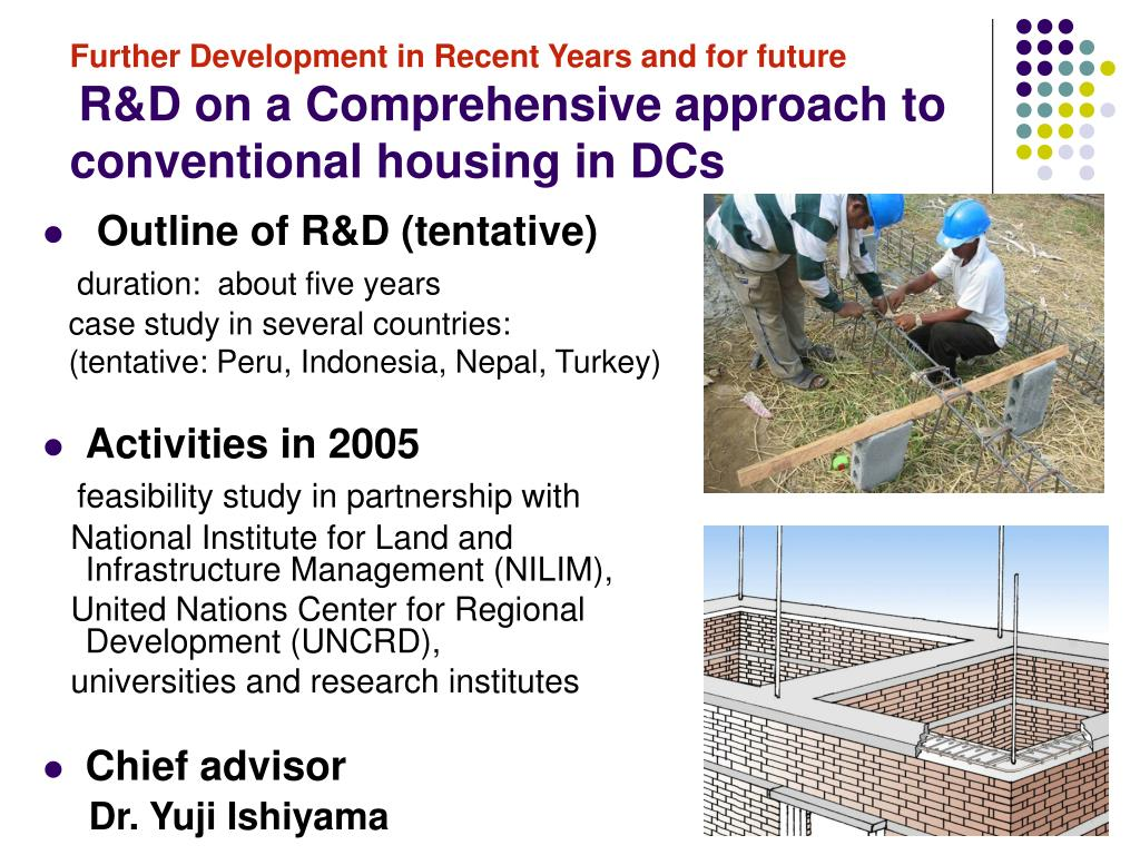 Further Development in Recent Years and for future