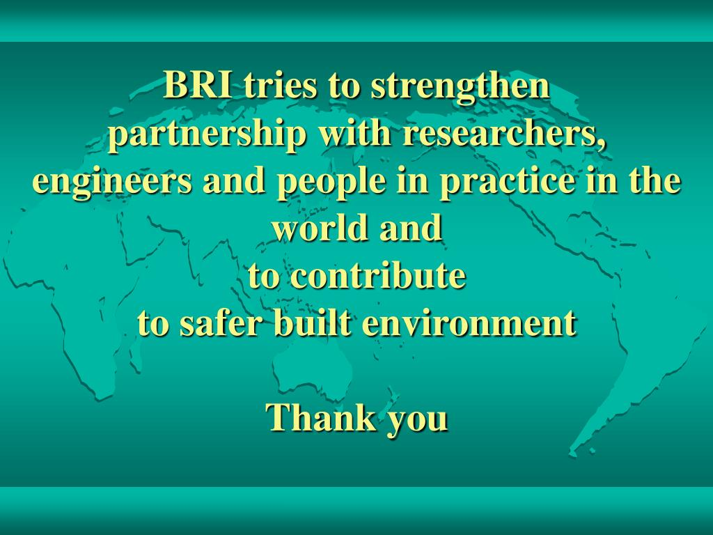 BRI tries to strengthen