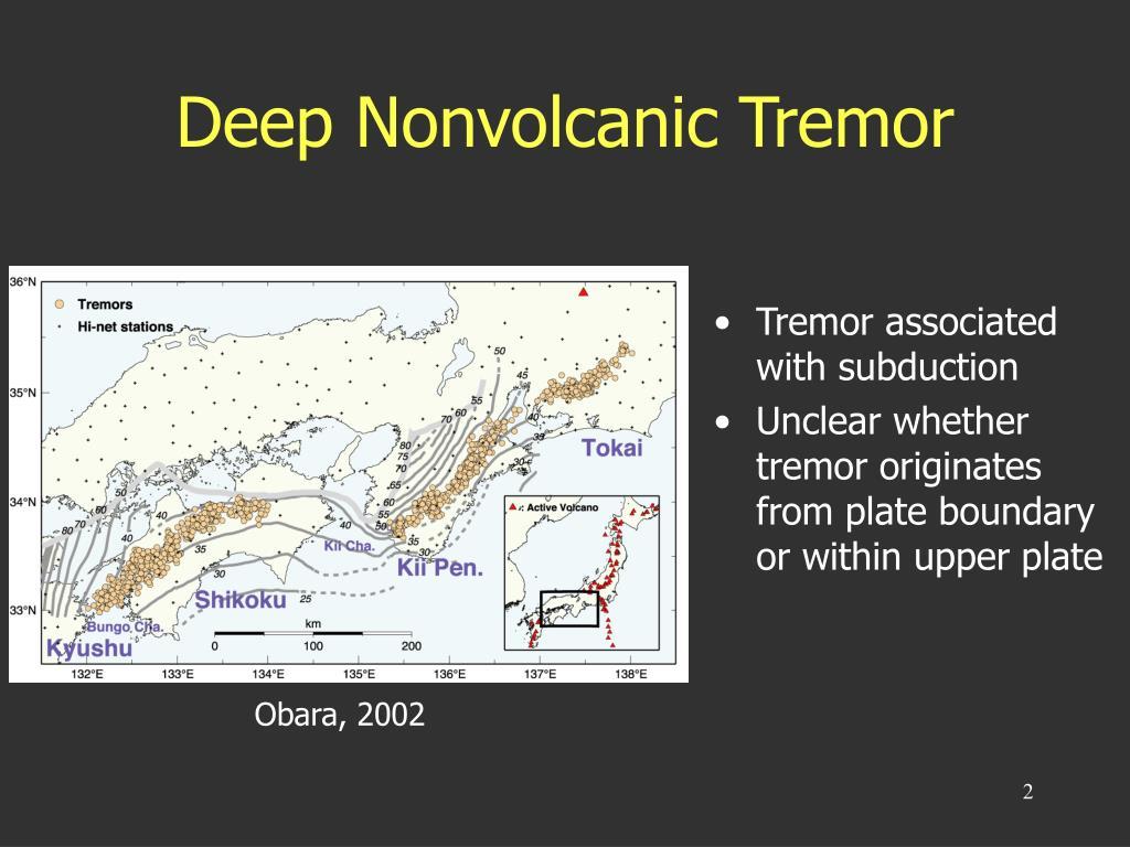 Deep Nonvolcanic Tremor