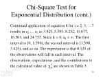 chi square test for exponential distribution cont3