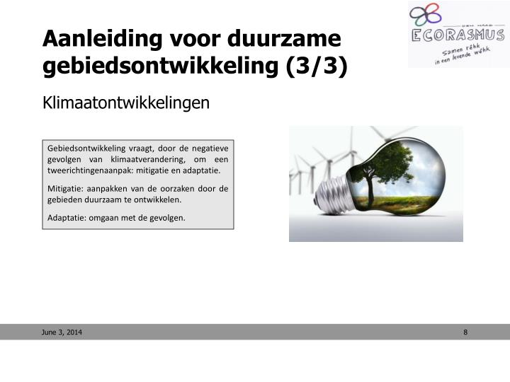 Aanleiding voor duurzame gebiedsontwikkeling (3/3)