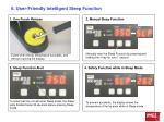 6 user friendly intelligent sleep function