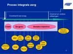 proces integrale zorg