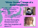 winter sonata image of a modernized korea