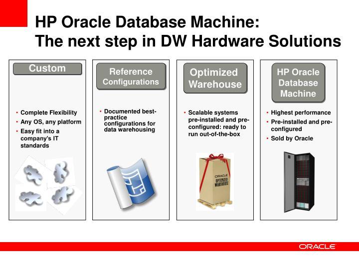 HP Oracle Database Machine: