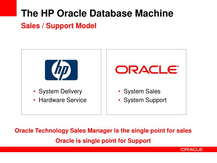 The HP Oracle Database Machine