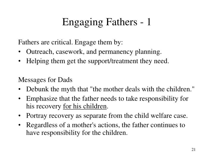 Engaging Fathers - 1