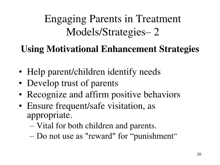 Engaging Parents in Treatment