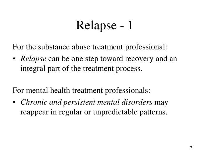 Relapse - 1