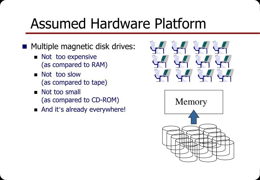 Assumed Hardware Platform
