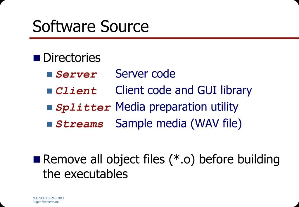 Software Source