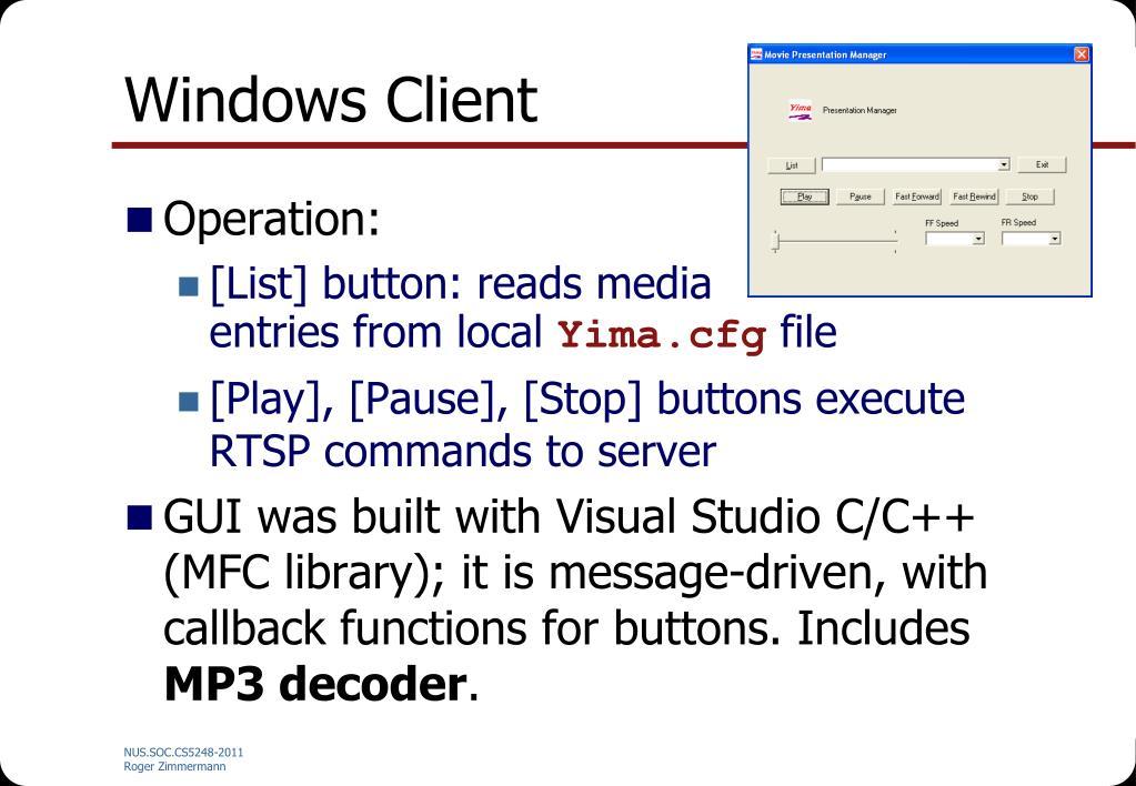 Windows Client