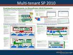 multi tenant sp 20107