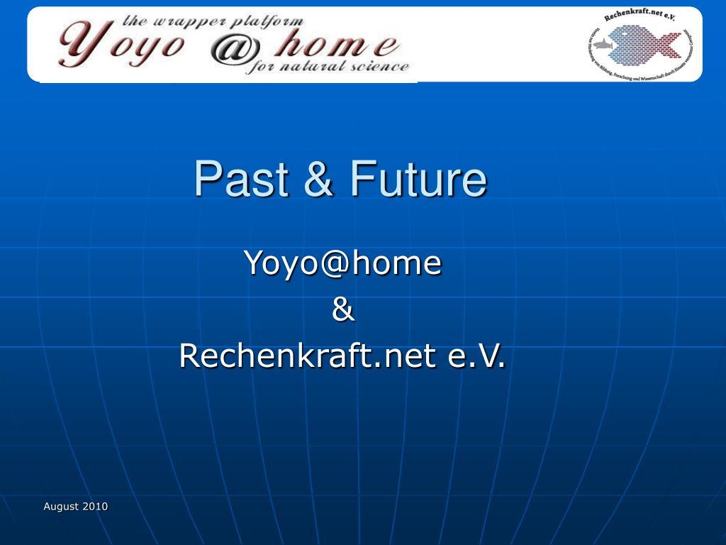 Past & Future