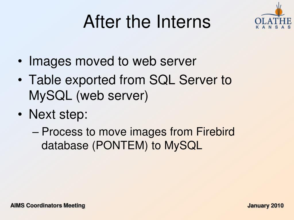 Images moved to web server