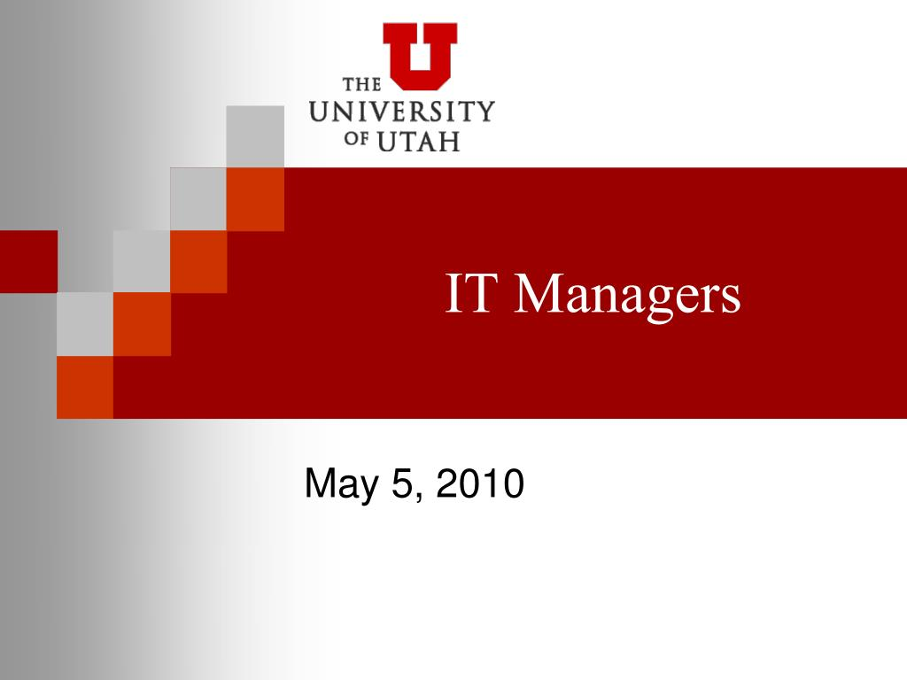 it managers l.