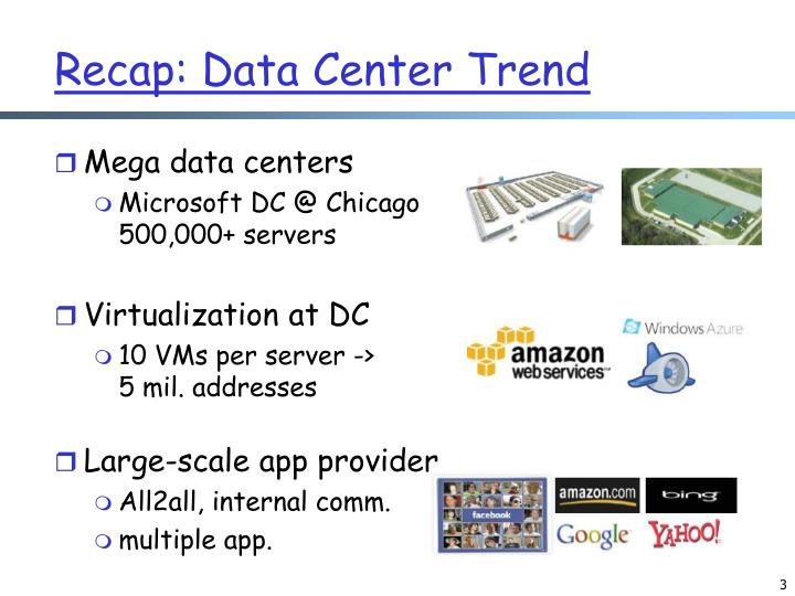 Recap data center trend