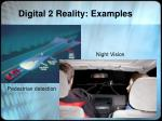 digital 2 reality examples