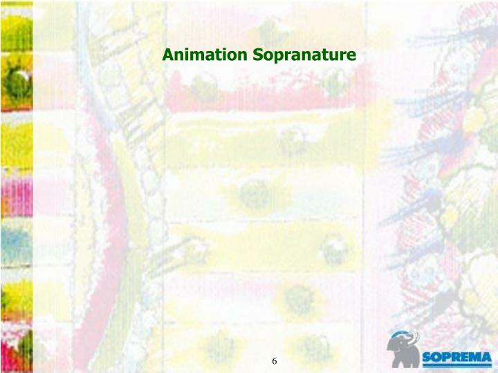 Animation Sopranature