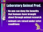 laboratory animal prod50