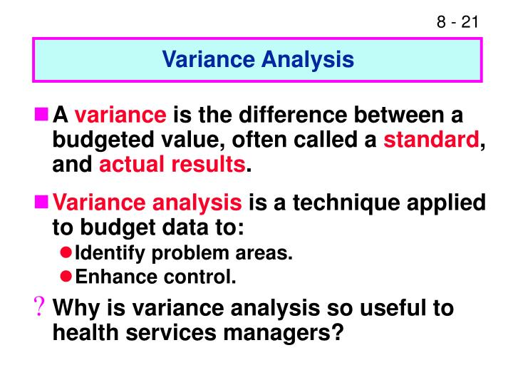 budget management and variance analysis essay Home » available papers » managerial accounting create an operating budget and budget variance analysis custom admission essay that has been written by.