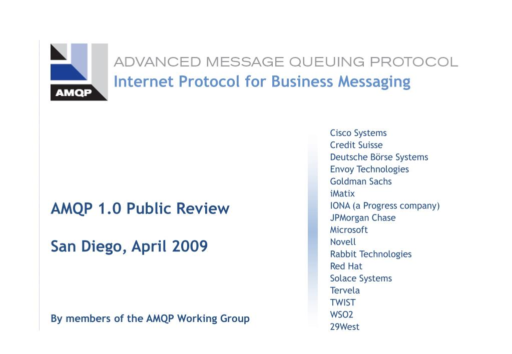 Internet Protocol for Business Messaging