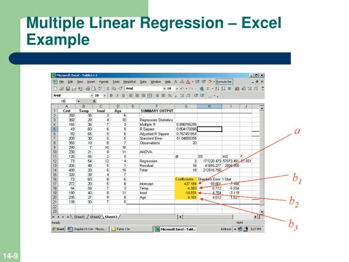 multiple regression analysis of miami heat Place data for multiple data sets side-by-side on an organized data table, and prism can fit them all the data sets at once you can fit the same model separately to each data set, use global nonlinear regression to share parameter values among data sets, or fit different models to different data sets.