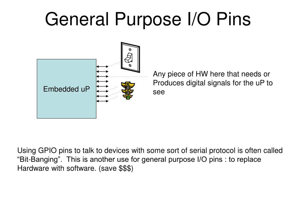 General Purpose I/O Pins