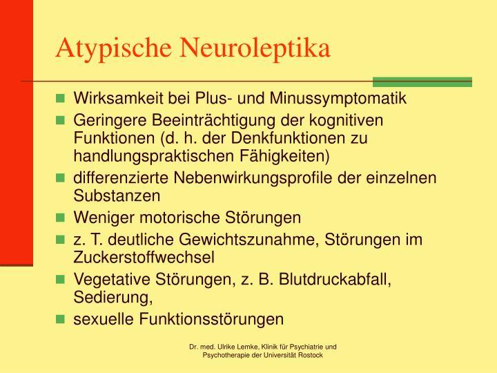 Atypische Neuroleptika