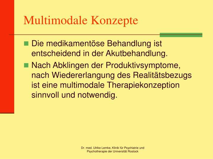 Multimodale Konzepte
