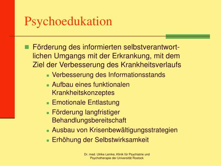 Psychoedukation