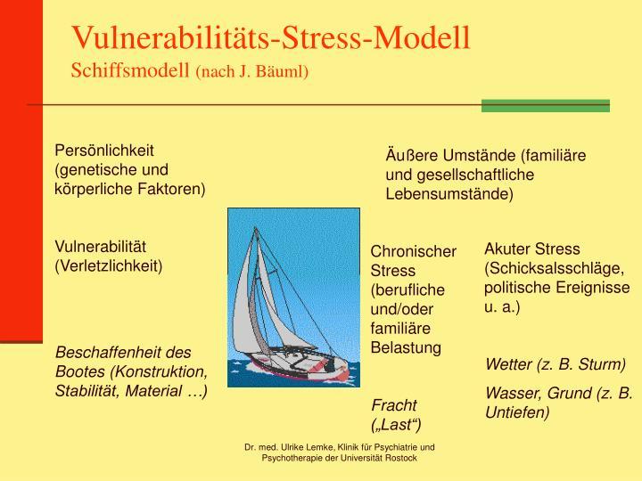 Vulnerabilitäts-Stress-Modell