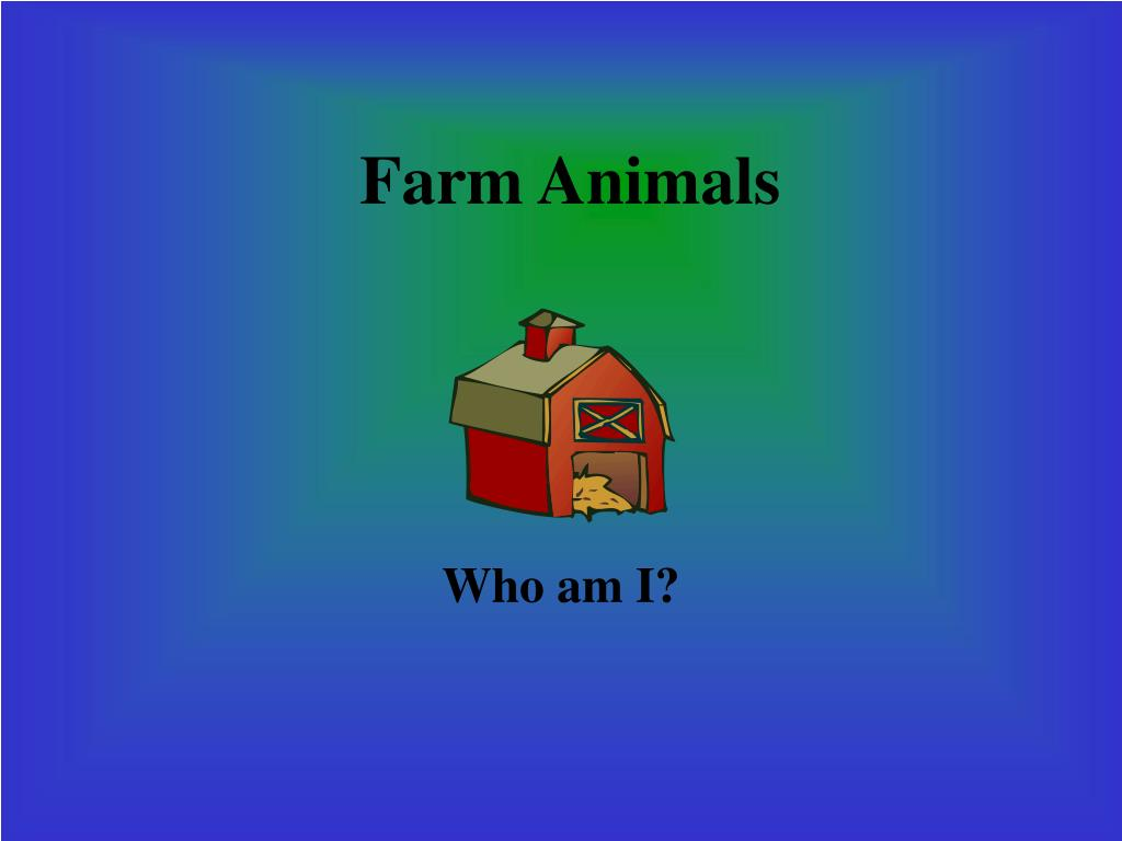 farm animals l.