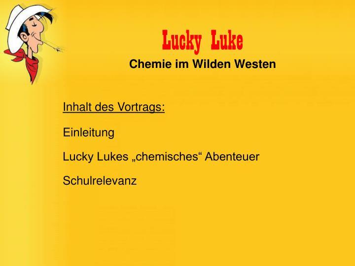 Lucky luke chemie im wilden westen1