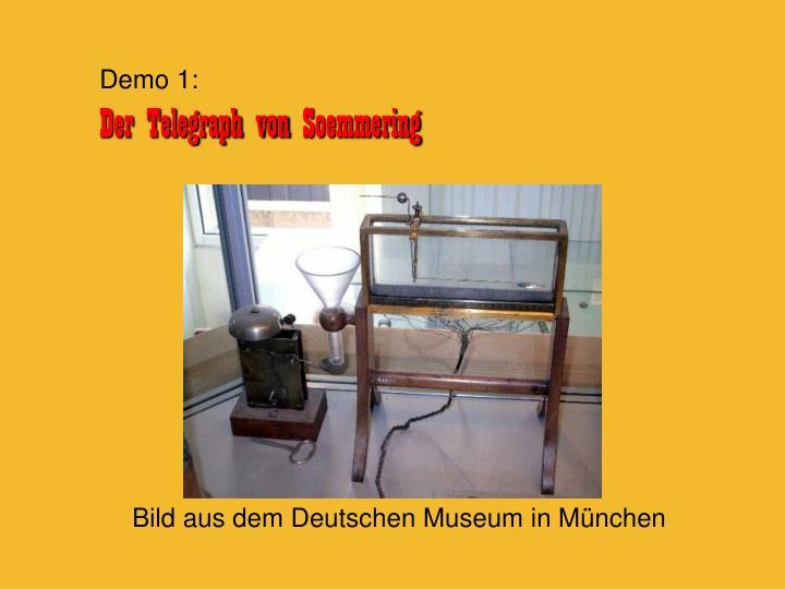 Bild aus dem Deutschen Museum in München