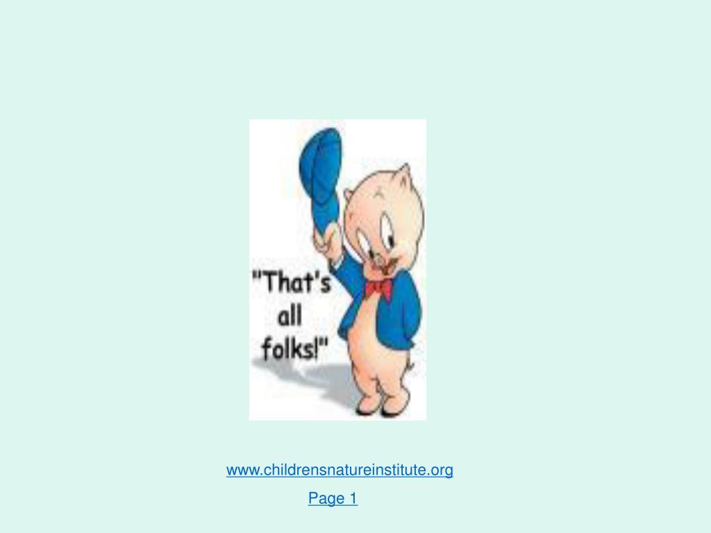 www.childrensnatureinstitute.org