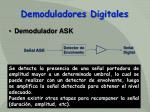 demoduladores digitales
