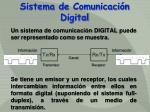 sistema de comunicaci n digital