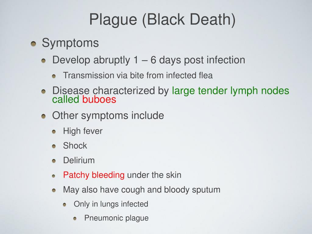 Plague (Black Death)